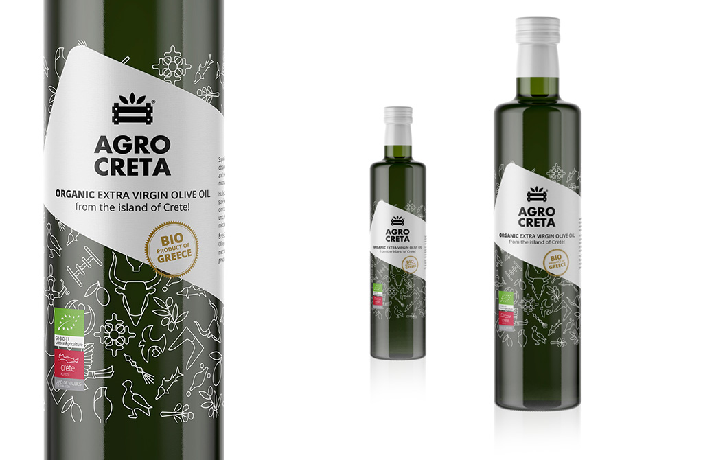 New look for the Organic EVOO of AGROCRETA!